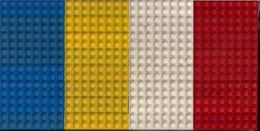 LEGO CLASSIC LOT De 32 DIFFÉRENTES BRIQUES De 16 Et D'UNE FINE PLAQUE VERTE. - Lego