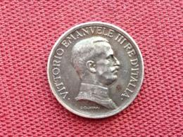 ITALIE Monnaie 1 Lire 1916 SUP++ - Temporary Coins