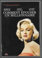Comment épouser Un Millionnaire Dvd  Marilyn Monroe - Komedie
