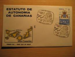 Santa Cruz De TENERIFE 1984 Estatuto Perro Perros Dog Dogs Arm Islas Canarias Canary Islands España Spain Cancel - 1931-Hoy: 2ª República - ... Juan Carlos I