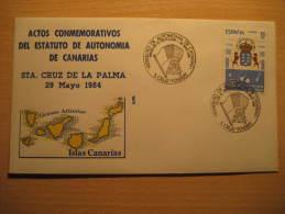 Santa Cruz De TENERIFE 1984 Palma Perro Perros Dog Dogs Arm Islas Canarias Canary Islands España Spain Cancel Cov - 1931-Hoy: 2ª República - ... Juan Carlos I
