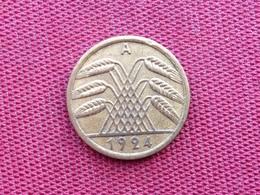 ALLEMAGNE Monnaie De 50 Rentenpfennig 1924 A - [ 3] 1918-1933 : Republique De Weimar