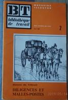 BT Bibliothèque De Travail No 2 Avril 1932 - Histoire Du Véhicule  Diligence Malle -poste - Livres, BD, Revues