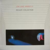 * LP *  JON & VANGELIS - PRIVATE COLLECTION (Holland 1983 EX) - Disco, Pop