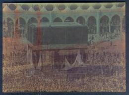 K1192- POSTCARD VINTAGE SAUDI ARABIA 3D MAKKAH KABA KAABA - Saudi Arabia