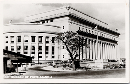 Bureau Of Posts Manila Philippines Old Cars Truck C1961 Real Photo Postcard Z2 - Philippines