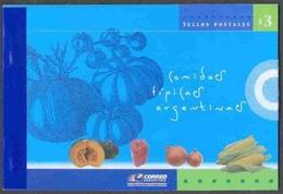 K1195- Argentina Tipical Food Complete Booklet. - Other