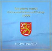 0501 - COFFRET BU FINLANDE - 1999 - 1 Cent à 2 Euros - Finlande