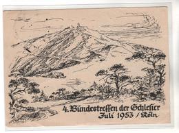 7392,  Schneekoppe, Riesengebirge, Bundestreffen Der Schlesier In Köln 1953 - Pologne