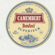 V 304 / ETIQUETTE DE FROMAGE   CAMEMBERT  BONAMI  50453 - Kaas