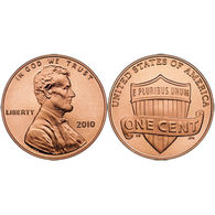 "USA 2010, 1 Cent - ""Lincoln Bicentennial Coin - UNC - EDICIONES FEDERALES"