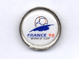 Football, Soccer, Calcio, FRANCE 1998 World Cup Logo, Pin - Football