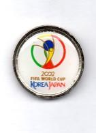 Football, Soccer, Calcio, KOREA - JAPAN 2002 World Cup Logo, Pin - Football