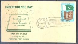 K1220- Pakistan 1973. Independence Day. - Pakistan