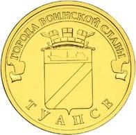 Russia, Tuapse, 2012 10 Rbl Rubls Rubels - Russland