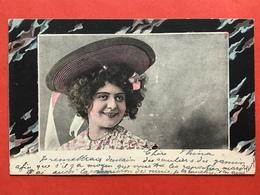 1904 - LACHENDE JONGE DAME MET HOED - JEUNE FEMME AVEC CHAPEAU - Femmes