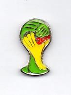 Football, Soccer, Calcio, BRASIL 2014 World Cup Logo, Pin - Football