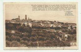 MONTALCINO - PANORAMA DAL LATO SUD-EST  - NV  FP - Siena