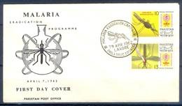 K1238- FDC Of Pakistan 1962. Malaria Eradication. - Pakistan