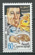 Tunisie YT N°761 Nicolas Copernic Neuf ** - Tunisie (1956-...)