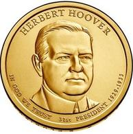 USA, Herber Hoover, 2014, 1 $ - 2007-…: Presidents