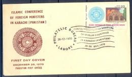 K1267- FDC Of Pakistan Year 1970. Islamic Conference. - Pakistan