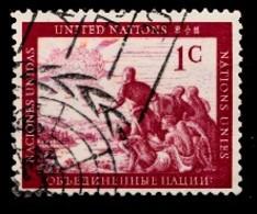 Nations Unies New-York 1951  Mi.Nr: 1 Freimarken...  Oblitèré / Used / Gebruikt - New-York - Siège De L'ONU