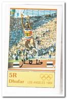 Dhufar 1984, Postfris MNH, Olympic Summer Games - Oman