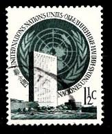 Nations Unies New-York 1951  Mi.Nr: 2 Freimarken...  Oblitèré / Used / Gebruikt - New-York - Siège De L'ONU