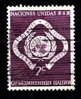 Nations Unies New-York 1951  Mi.Nr: 3 Freimarken...  Oblitèré / Used / Gebruikt - New-York - Siège De L'ONU
