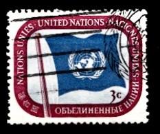 Nations Unies New-York 1951  Mi.Nr: 4 Freimarken...  Oblitèré / Used / Gebruikt - New-York - Siège De L'ONU
