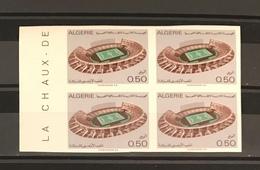 Algeria/Algerie Imperforated Stade Olympique De Cheraga  YT554 Non Dentelé En Bloc Neuf**/MNH - Algeria (1962-...)