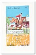 Dhufar 1973, Postfris MNH, Olympic Summer Games, Scouting Overprint - Oman