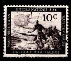 Nations Unies New-York 1951  Mi.Nr: 6 Freimarken...  Oblitèré / Used / Gebruikt - New-York - Siège De L'ONU