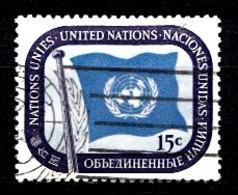 Nations Unies New-York 1951  Mi.Nr: 7 Freimarken...  Oblitèré / Used / Gebruikt - New-York - Siège De L'ONU
