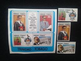 Trinidad & Tobago Eric Williams Set Mint - Trinidad & Tobago (1962-...)