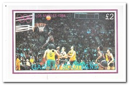Gairsay 1984, Postfris MNH, Olympic Summer Games - Regionale Postdiensten
