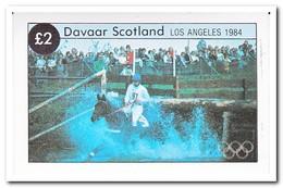 Davaar 1984, Postfris MNH, Olympic Summer Games - Regionale Postdiensten