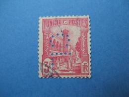 Perforé  Perfin   Tunisie ,   Perforation :   CL 6    à Voir - Tunisie (1888-1955)