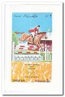 Dhufar 1972, Postfris MNH, Olympic Summer Games - Oman