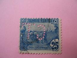 Perforé  Perfin   Tunisie ,   Perforation :   CL 7    à Voir - Tunesien (1888-1955)