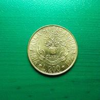 200 Lire Münze Aus Italien Von 1994 (sehr Schön Bis Vorzüglich) - 1946-… : Republic