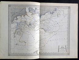 Royaume De Prusse Et Supplément à La Confédération Germanique, Cours D'études 2ème Partie - Geographische Kaarten