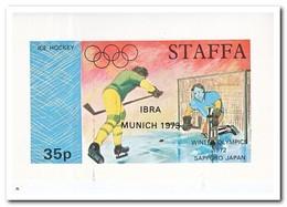 Staffa 1973, Postfris MNH, Olympic Winter Games - Regionale Postdiensten