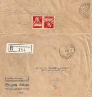 "R Brief  ""Eugen Sekula, Luzern"" - Effretikon            1930 - Lettres & Documents"
