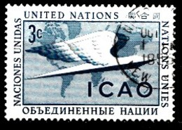 Nations Unies New-York 1955  Mi.Nr: 35 Internationale...  Oblitèré / Used / Gebruikt - New-York - Siège De L'ONU