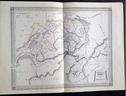 Confédération Suisse , Cours D'études 2ème Partie, A.M.S.S.C.G. - Geographische Kaarten