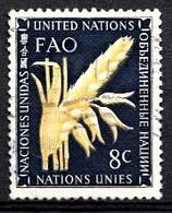 Nations Unies New-York 1954  Mi.Nr: 28 Ernährungs-und ......  Oblitèré / Used / Gebruikt - New-York - Siège De L'ONU