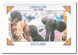 Eynhallow 1984, Postfris MNH, Olympic Summer Games - Schotland