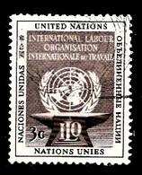 Nations Unies New-York 1954  Mi.Nr: 29 Arbeitsorganisation  Oblitèré / Used / Gebruikt - New-York - Siège De L'ONU